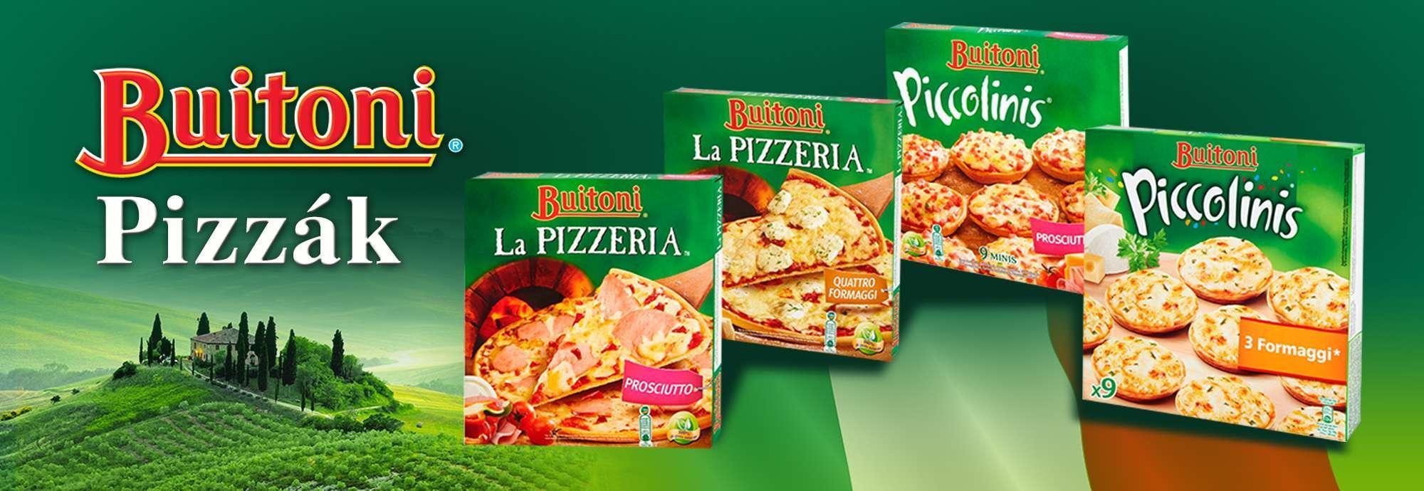Buitoni pizzák